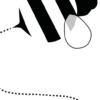 bij kinderkamer poster zwartwitdetail