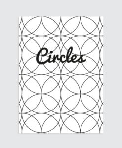 Interieurposter Circles Motief Homemade Poster