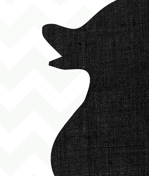 poster kinderkamer badeend grijs detail