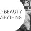 beauty poster fotografie zwart wit muur detail