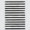 poster interieur zwart wit breton