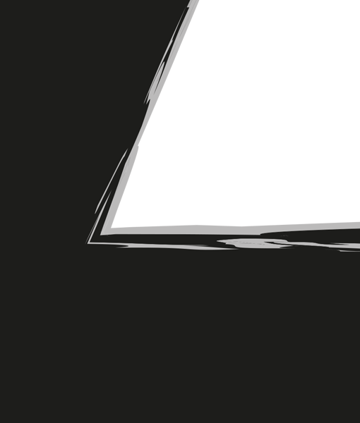 bliksem poster zwart wit kinder kamer