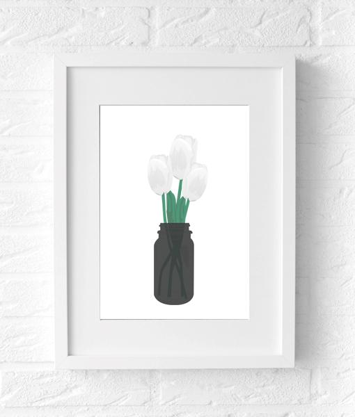 tulpen poster lente
