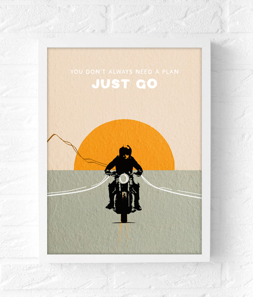 just go riding